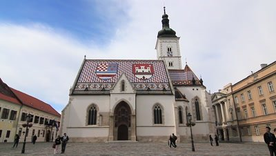St. Mark's Church, Zagreb, Croatia