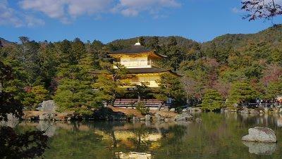 Temple of the Golden Pavilion, Kyoto, Japan