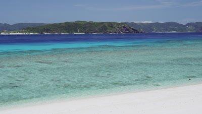 Nishibama beach in Aka Island, Okinawa Prefecture, Japan