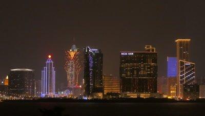 Night View of Macau, China