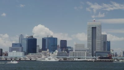 View of Tokyo Bay from Harumi