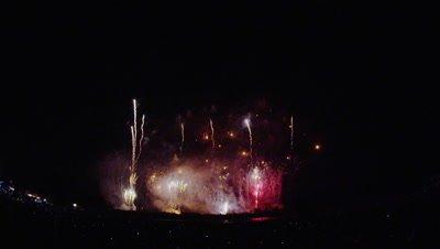 Azumino Fireworks Festival 2014