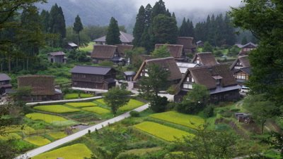 Ainokura Village in Gokayama