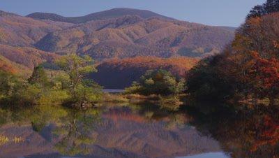 Bishamon-Numa Pond in autumn
