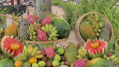 Fruit Bar at Nusa Dua Beach, Bali, Indonesia