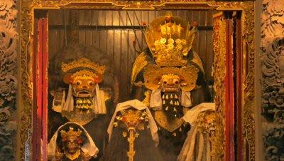 Image of Barong and Rangda in Temple Festival, Ubud, Bali, Indonesia