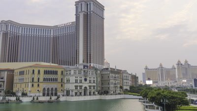 Time Lapse of The Venetian Macao, Macau, China