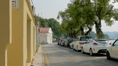 Street View in Coloane Area, Coloane, Macau, China