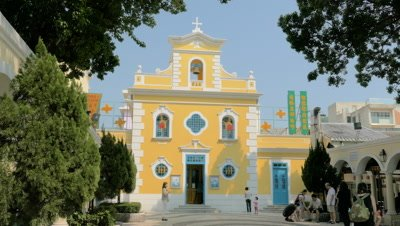 Chapel of St. Francis Xavier, Coloane, Macau, China