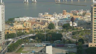 View from Guia Hill, Macau, China