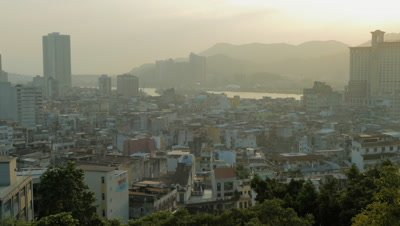 View from Mount Fortress, Macau, China