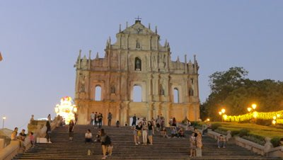 The Ruins of St. Paul's, Macau, China
