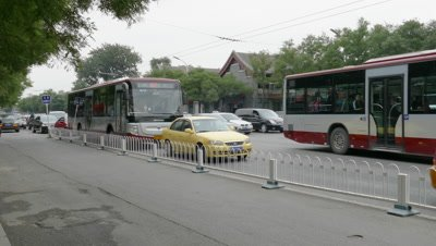 Street View of Beijing, China