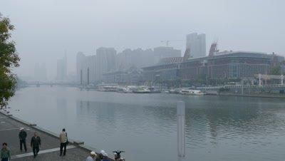 City View of Tianjin, China