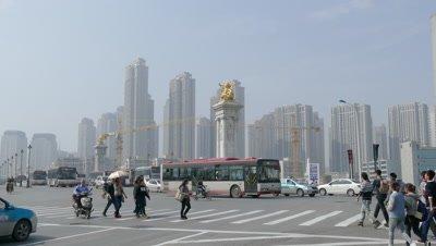 Bei'an Bridge, Tianjin, China