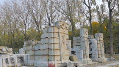 European Palace Ruins at the Old Summer Palace, Beijing, China