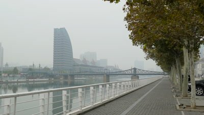 Jiefang Bridge in Tianjin, China
