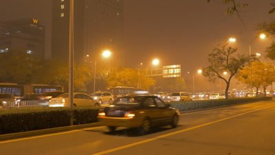 Street View of Beijing, China
