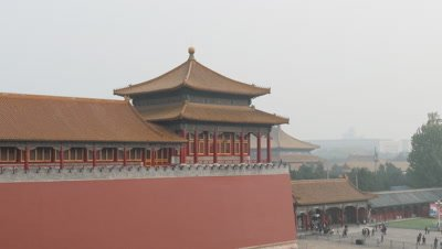 Meridian Gate at Forbidden City, Beijing, China