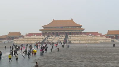 Hall of Supreme Harmony at Forbidden City, Beijing, China