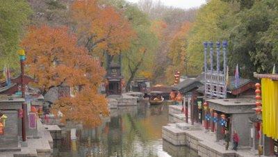 Suzhou Street at Summer Palace, Beijing, China