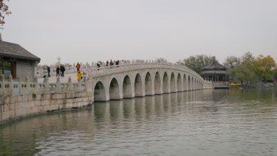 17-Arch Bridge on Kunming Lake at Summer Palace, Beijing, China