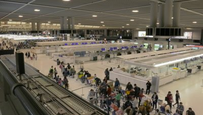 Interior of Narita International Airport