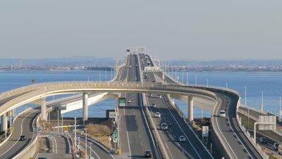 Umihotaru on Tokyo Bay Aqua-Line, Chiba, Japan