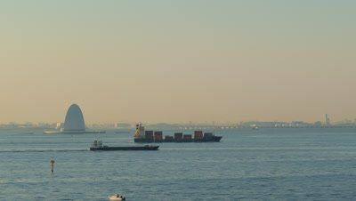 The Tower of Wind on the Sea, Tokyo Bay Aqua-Line, Chiba, Japan