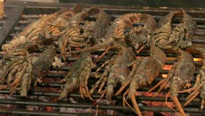 Grilled Seafood at Nusa Dua Beach, Bali, Indonesia
