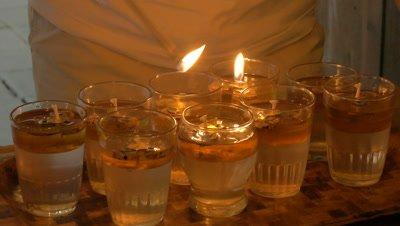 Candlelight, Ubud, Bali, Indonesia