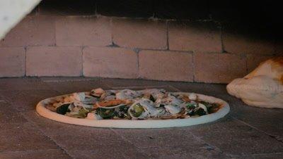 Pizza Baked in Kiln, Ubud, Bali, Indonesia