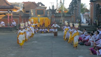 Celebration Dance, Ubud, Bali, Indonesia