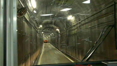 Tateyama Tunnel Trolleybus, Nakashinagawa, Japan
