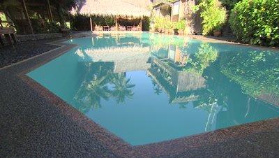 Pool in a Villa Hotel, Palau