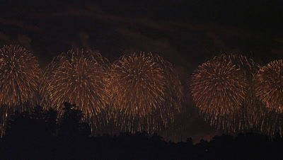 Nagaoka Fireworks Festival in Japan