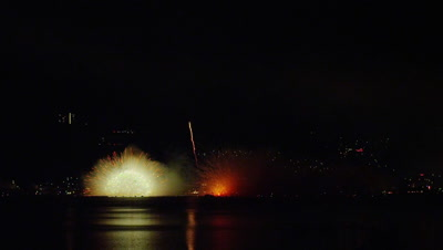 Suwa Lake Fireworks Festival