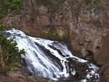 Gibbon Falls,Yellowstone National Park