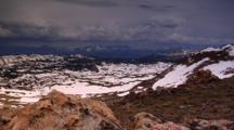 Storm Clouds Rolling In Beartooth Highway