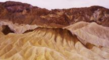 Mountains And Eroding Hills Of Mineral Rich Rock And Soils, Death Valley Np, Ca.