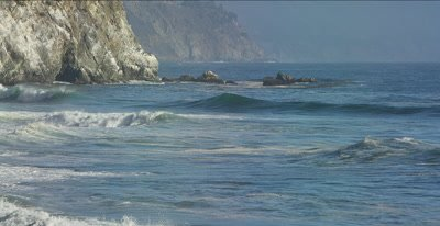 Big Sur coastal break, SURF Waves, Swell