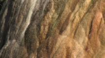Close Up Of Hot Spring Mound