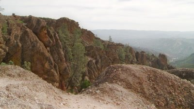 Pinnacles National Park,top of mountains