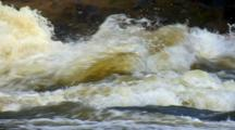 Big Sioux River Roars Over Sioux Quartzite