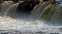 Big Sioux River Cascades Over Sioux Quartzite