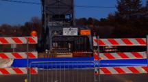 Lift Bridge Closed Due To Spring Flooding