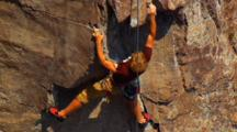 Rock Climb Stock Footage