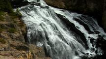 Gibbon Falls Yellowstone National Park Waterfall