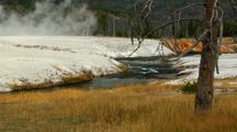 Upper Geyser Basin Thermal Hot Spring Firehole River Yellowstone National Park