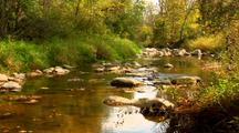 Picturesque Autumn Stream
